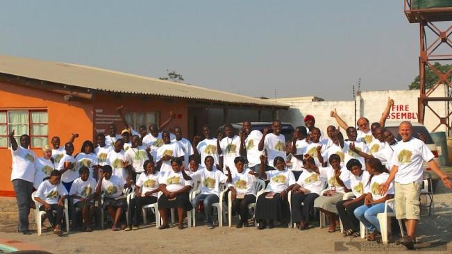 Zambia team pic