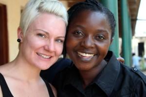 Kristin and Agatha