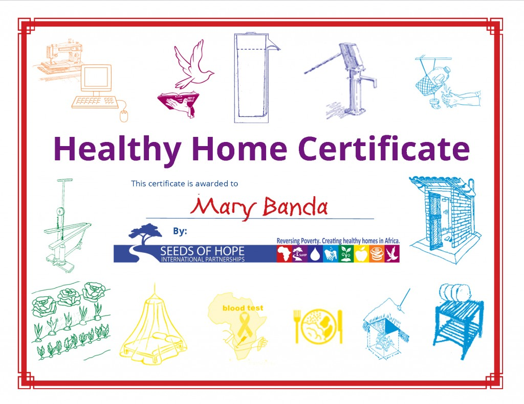 healthy home certificate